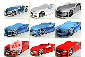 Кровати машины для мальчиков и девочек (7цветов) +ПОДАРОК!