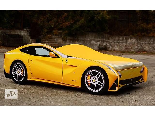 купить бу Кровать-машина Ferrari F12 (желтая) в Киеве