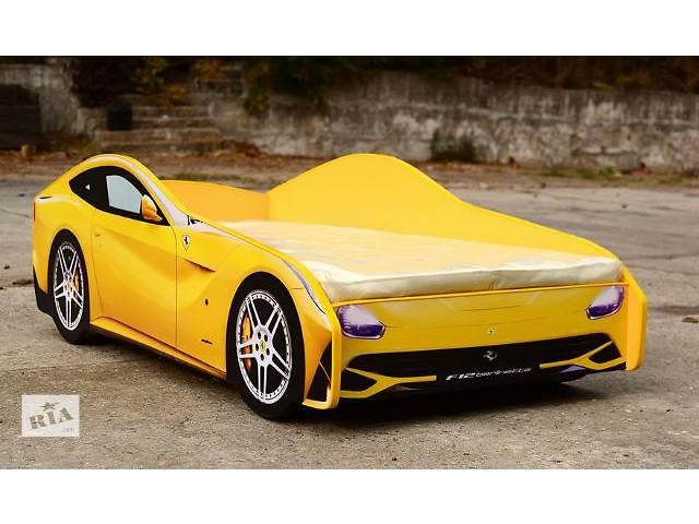 купить бу Кровать-машина Ferrari (желтая) в Киеве