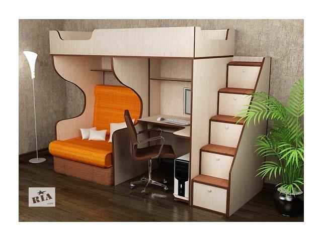 бу Кровать с креслом и письменным столом в Киеве