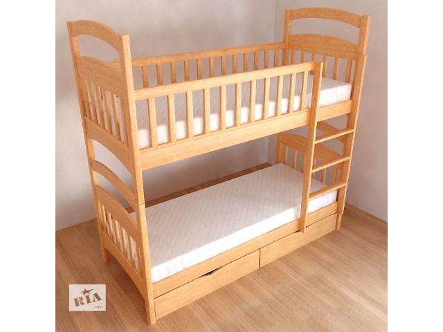 купить бу Срочно!Изысканная кровать от столярного цеха! Кровать двухъярусная трансформер Карина в Киеве