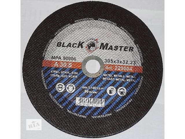 купить бу Круг отрезной по металлу 305х3х32.23 Black Master в Киеве