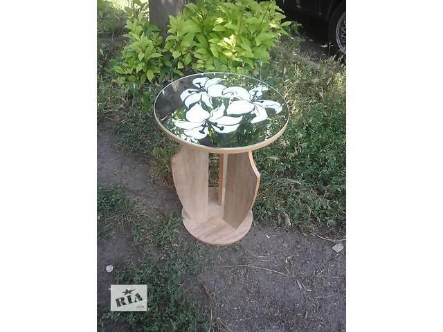 кофейный круглый столик- объявление о продаже  в Павлограде