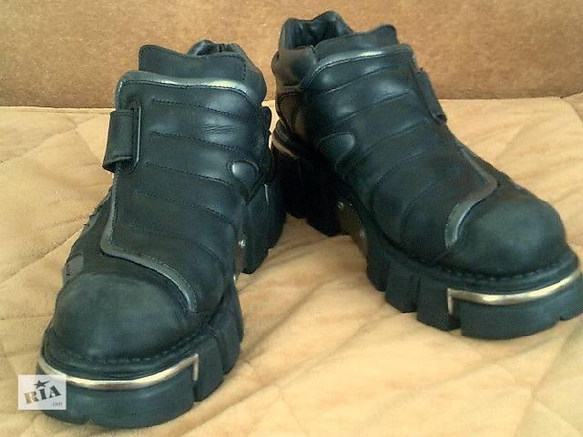 бу Байкерские мото ботинки NEV ROCK в Нетешине