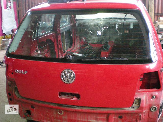 Крышка багажника Черная\Красная Volkswagen Golf IV- объявление о продаже  в Луцке