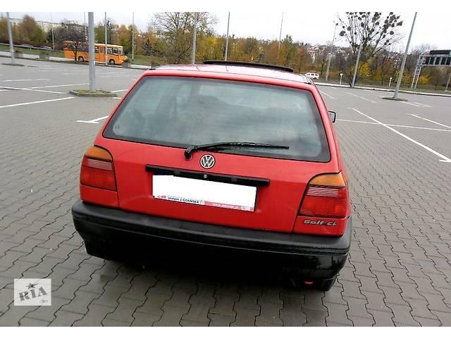 Крышка багажника для хэтчбека Volkswagen Golf III- объявление о продаже  в Львове