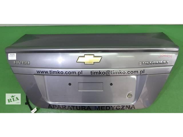 продам Крышка багажника для легкового авто Chevrolet Aveo T250 З бу в Тернополе