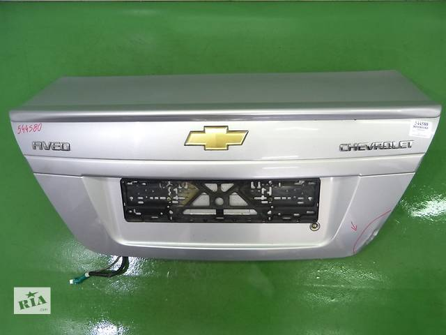 купить бу Крышка багажника для легкового авто Chevrolet Aveo T250 З в Тернополе