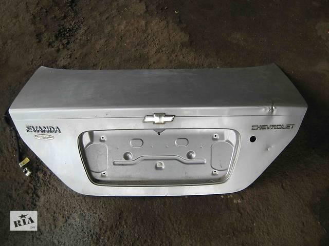 продам  Крышка багажника для легкового авто Chevrolet Evanda бу в Львове