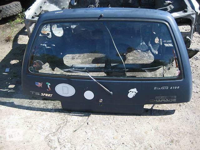 бу  Крышка багажника для легкового авто Daihatsu Charade в Львове