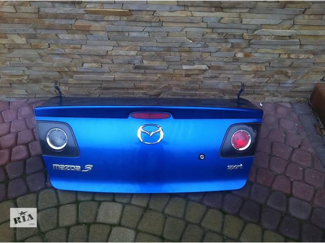 продам Крышка багажника для легкового авто Mazda 3 бу в Львове