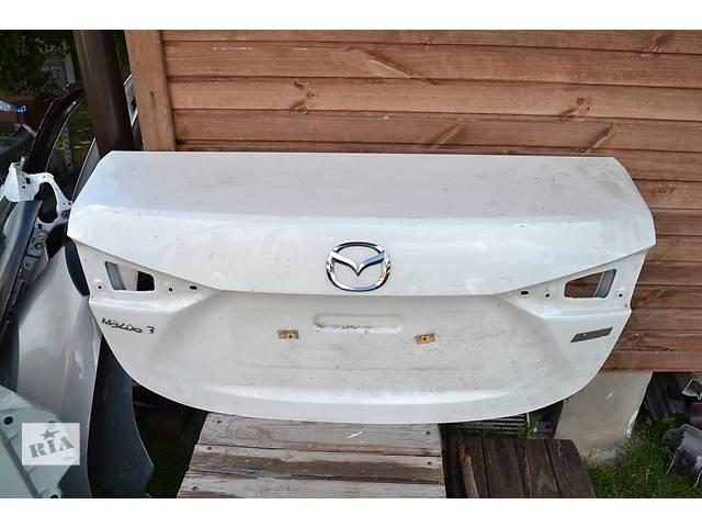 продам  Крышка багажника для легкового авто Mazda 3 бу в Ровно