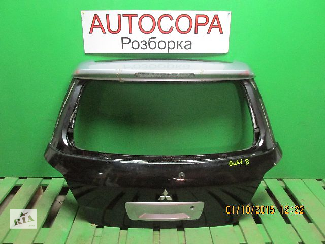 купить бу Крышка багажника для легкового авто Mitsubishi Outlander в Львове