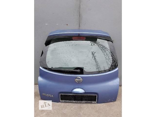 бу Крышка багажника для легкового авто Nissan Micra 2005 в Киеве