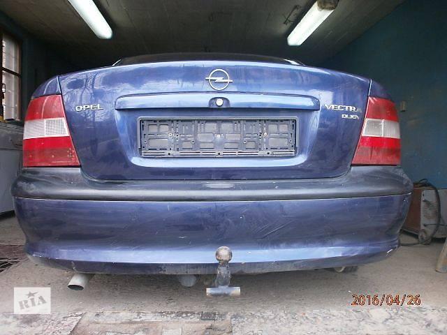 бу  Крышка багажника для легкового авто Opel Vectra B в Жидачове