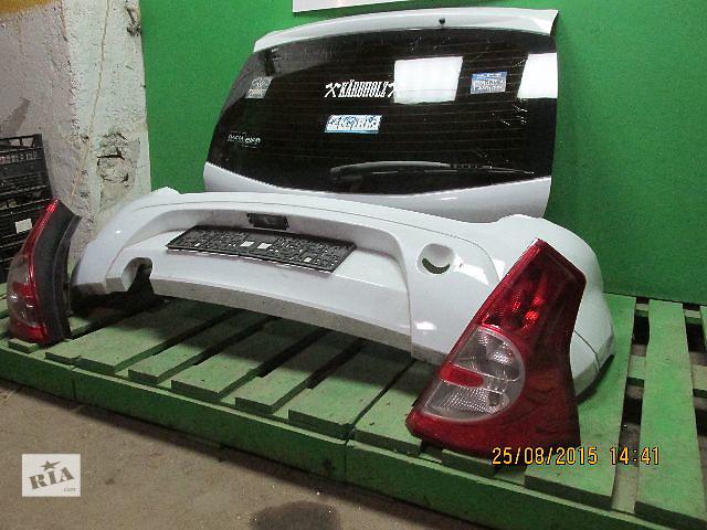 продам Крышка багажника для легкового авто Renault Sandero бу в Львове