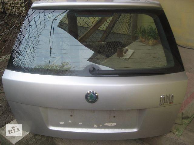 купить бу  Крышка багажника для легкового авто Skoda Fabia в Ровно