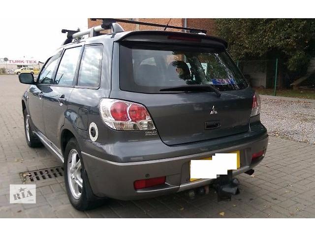 продам Крышка багажника для Mitsubishi Outlander 2004 бу в Львове