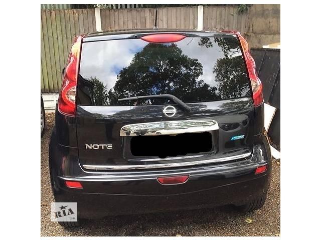 купить бу Крышка багажника для  Nissan Note 2010 в Львове