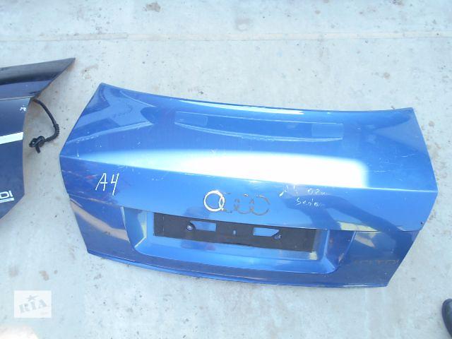 крышка багажника для седана Audi A4, 2002- объявление о продаже  в Львове