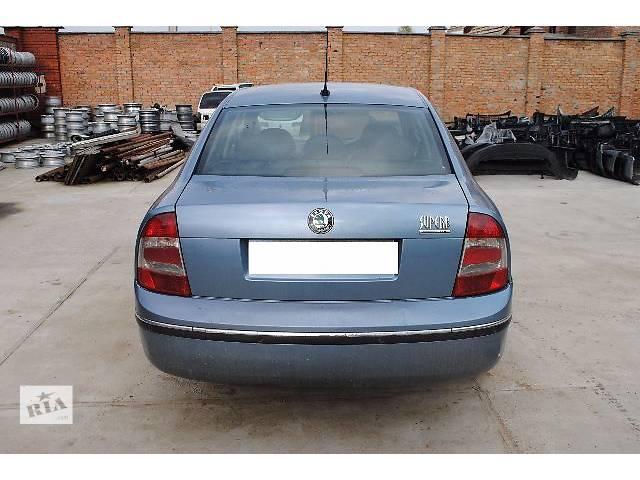 Крышка багажника для седана Skoda SuperB 2007- объявление о продаже  в Львове