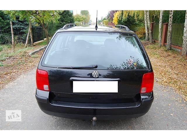купить бу Кришка багажника для універсалу Volkswagen Passat B5 1998  в Львове