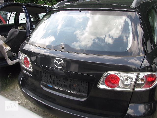 купить бу крышка багажника для универсала Mazda 6, 2004 в Львове