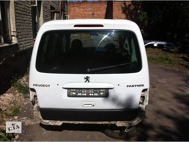 бу  Крышка багажника(ляда) для легкового авто Peugeot Partner в Луцке
