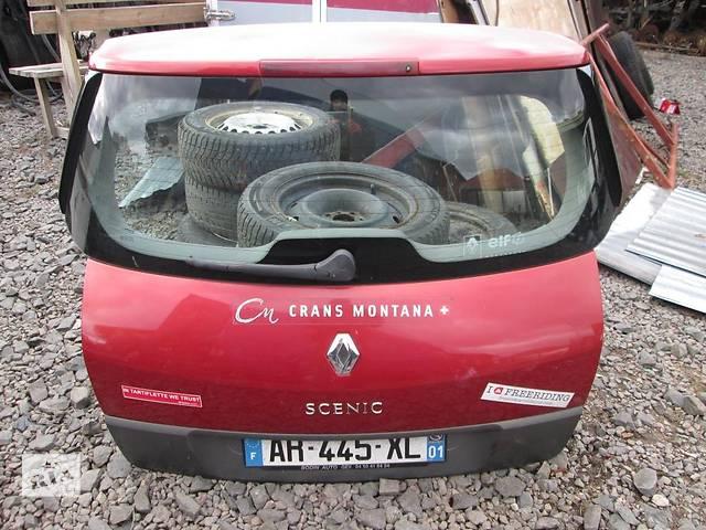 купить бу Крышка багажника (ляда) Renault Grand Scenic II 2003-2009 в Ковеле