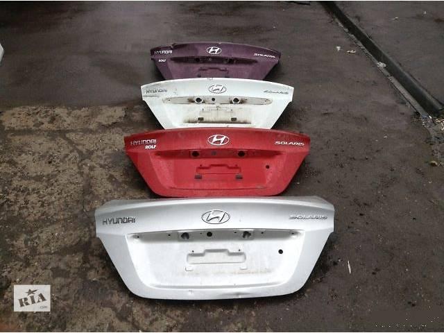 продам крышка багажника в сборе Hyundai Accent 2013 Solaris бу в Харькове