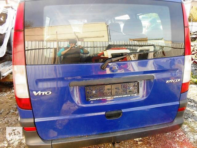 бу Кришка/ кришка багажника, Ляда Мерседес Віто (Віано ) Mercedes Vito (Viano) 639 (109, 111, 115) в Ровно