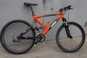 б/у Велосипеды-двухподвесы KTM
