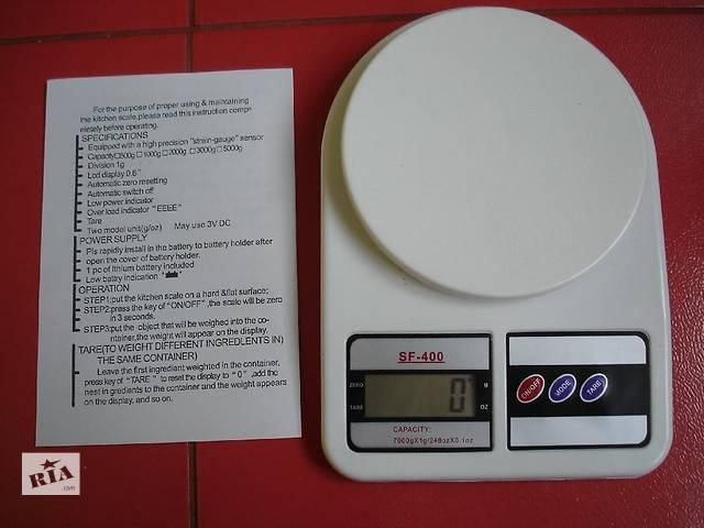 Кухонные весы SF 400 7кг- объявление о продаже  в Харькове