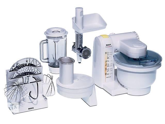купить бу Кухонный комбайн Bosch MUM 4655 мясорубка/миксер/блендер/терки в Мукачево