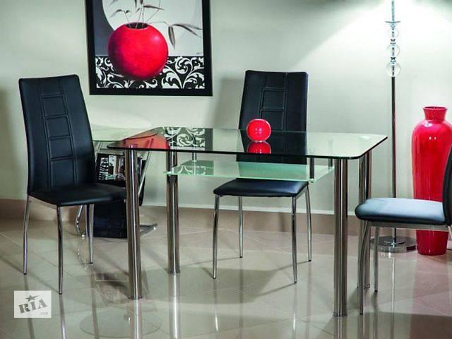 продам Кухонный стеклянный стол Hektor (75 х 120 см) от польской фирмы Signal. бу в Червонограде