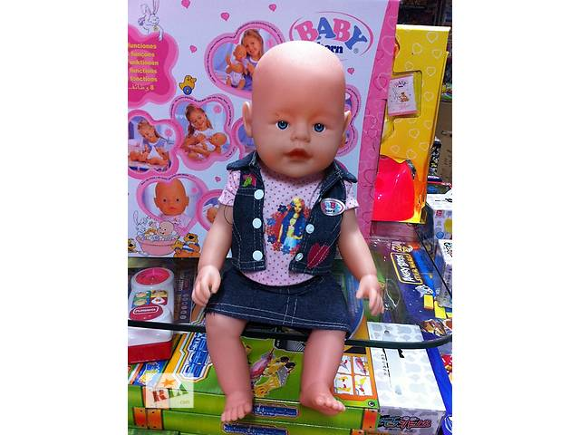 бу Кукла аналог Беби Борн Baby Born 8 функций 9 аксессуаров в Ровно