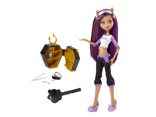 Кукла Клодин Вульф с кроватью - Clawdeen Wolf Doll And Bed Playset Dead Tired: Детские товары на RIA.com