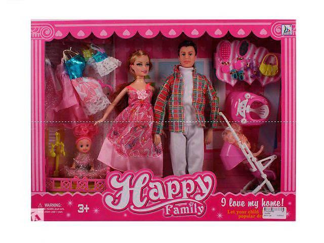 купить бу Кукла Семья мод.116-35 в Киеве