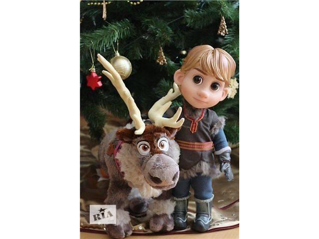 купить бу кукла Кристоф Холодное сердце Frozen, в Киеве