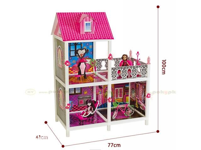 Кукольный домик Монстр Хай Monster High 66901 3 комнаты + балкон, 100 см- объявление о продаже  в Одессе