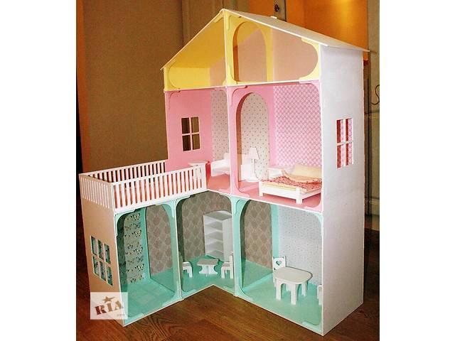 купить бу Кукольный домик из дерева эксклюзивного дизайна + Мебель в подарок в Сумах