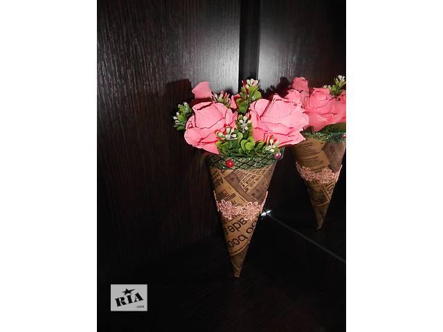 продам Кулечек с розами и конфетами бу в Мариуполе
