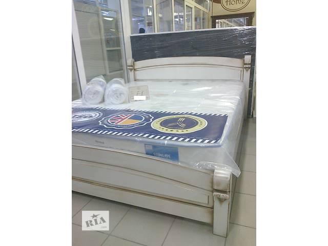 купить бу Фиеста (Элит) - двуспальная кровать из массива дерева, в наличии! в Киеве