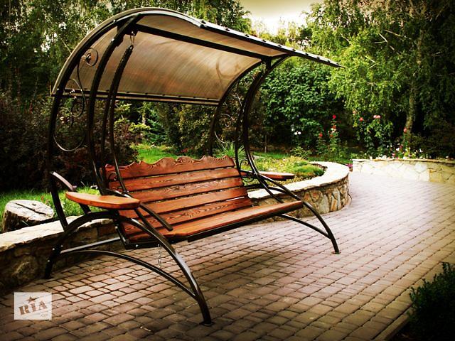 бу Купить садовые качели с доставкой в Ваш город. в Днепре (Днепропетровске)