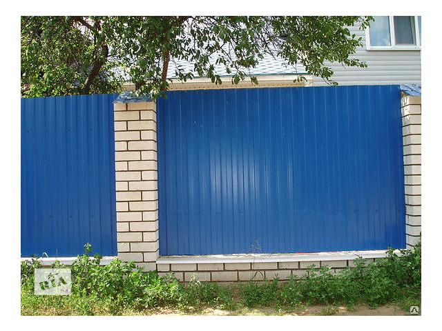 продам Купить синий RAL5005 профнастил, синий профлист цена бу в Киеве