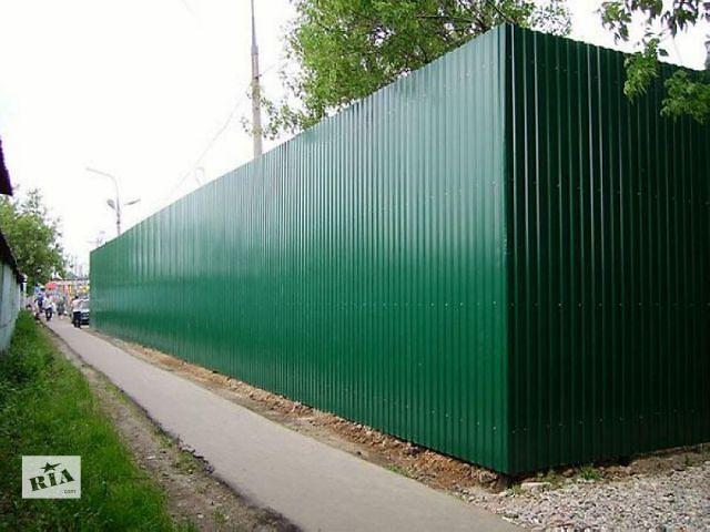 бу Купить зеленый RAL6005 профнастил, зеленый профлист цена в Киеве