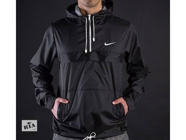 купить бу Куртка анорак дождевик осень Найк молодёжный Nike бесплатная доставка в Кременчуге