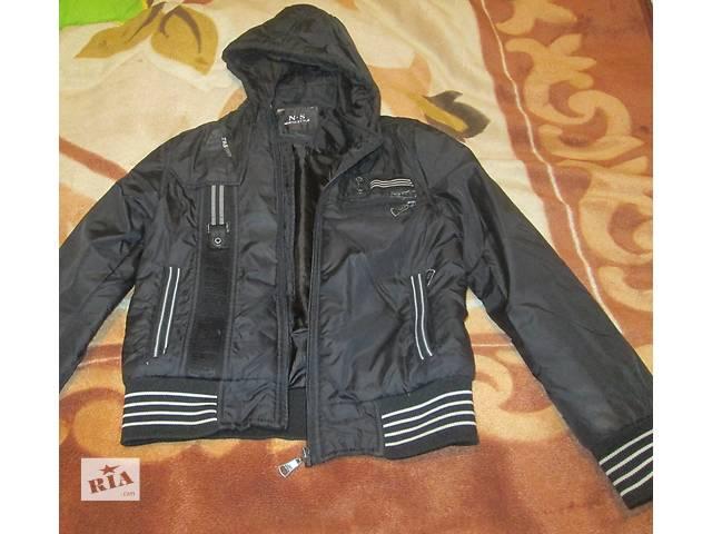 продам Куртка деми на мальчика 9-14 лет. бу в Киеве