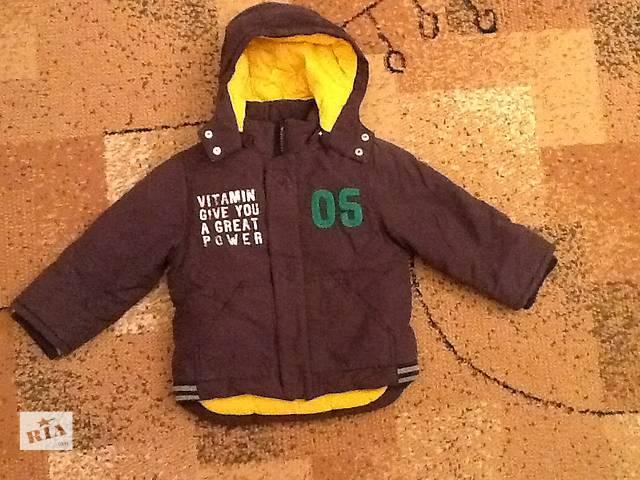 купить бу Куртка для мальчика осень-зима р.98 в Киеве