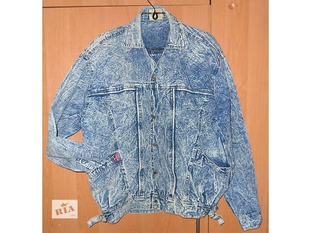 купить бу Куртка джинсовая, варёнка, р 46 в Харькове